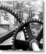 Cogs Metal Print by Greg Fortier