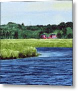 Cohansey River Metal Print