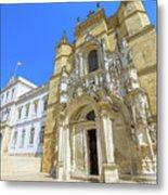 Coimbra Historic City Metal Print