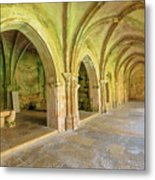 Coimbra Old Cathedral Metal Print