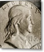 Coin Collector Vi Metal Print