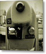 Coin Operated Telescope Metal Print