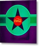 Coke N Lime Metal Print