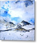Col Du Pourtalet In The Pyrenees 01 Metal Print
