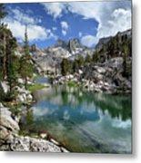 Colby Lake Outlet - Sierra Metal Print