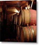 Colchagua Valley Wine Barrels II Metal Print