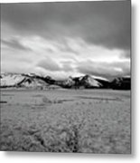Cold And Foreboding Metal Print