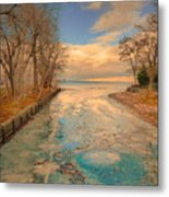 Cold And Warmth Metal Print