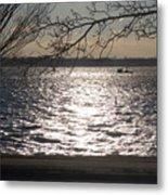 Cold, Bright, And Windy- Before The Freeze Metal Print
