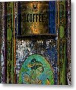 Cold Coffee Metal Print