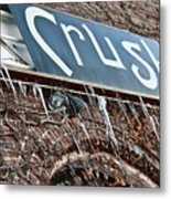 Cold Crush Metal Print