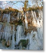 Cold Day In The Valley 3 Metal Print