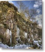 Cold Day In The Valley 5 Metal Print