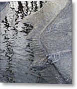 Cold Enough To Frost A Stick Metal Print