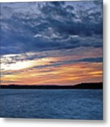 Cold Front Metal Print