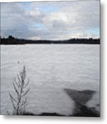 Cold Lake Metal Print