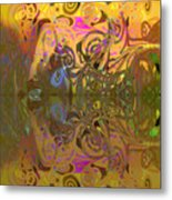 Cold Light Of Day Metal Print