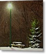 Cold Lunch Metal Print