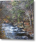 Cold Mountain Stream Metal Print