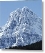 Cold Mountain- Banff National Park Metal Print