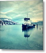 Cold Reflections Metal Print