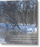 Cold-snow Metal Print