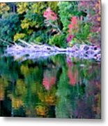 Cold Spring Harbor Reflections Metal Print