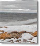 Cold Water Metal Print