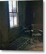 Cold Window Light Metal Print