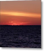 Cold Winter Sunset 1 Metal Print