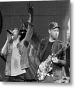 Coldplay 14 Metal Print
