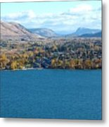 Coldstream Valley In Autumn Metal Print