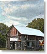 Coldwater Creek Office Metal Print
