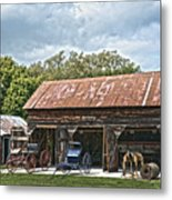 Coldwater Vintage Carriage House Metal Print