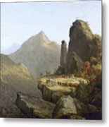 Cole: Last Of The Mohicans Metal Print
