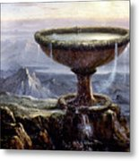 Cole: Titans Goblet, 1833 Metal Print by Granger