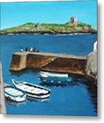 Coliemore Harbour, Dalkey Metal Print