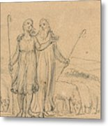 Colinet And Thenot Metal Print
