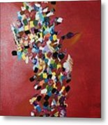 Collage Of Color Metal Print