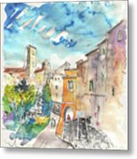 Colle D Val D Elsa In Italy 02 Metal Print