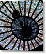 Collectible Stained Glass Tiffany Dome Metal Print