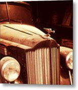 Collecting Dust In The Garage Metal Print