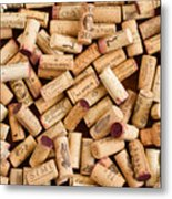 Collection Of Corks Metal Print
