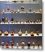 Collection Of Figurines Metal Print