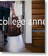College Apartment Near Miami University Metal Print