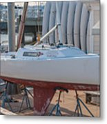 College Of Charleston Sailing Metal Print
