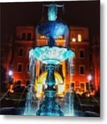 College Statue  Metal Print