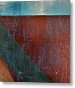 Collelungo Abstract Metal Print