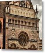 Colleoni Chapel Metal Print