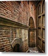 Colliding Walls Metal Print